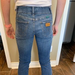 Boot Cut Wrangler Jeans size.5/6x32